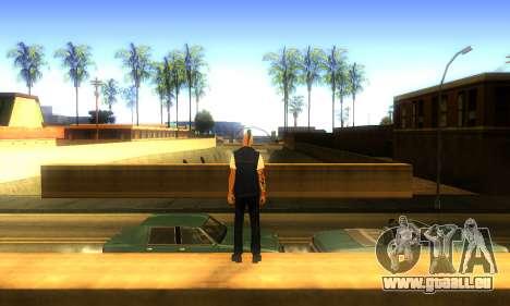 Punk v2 pour GTA San Andreas troisième écran