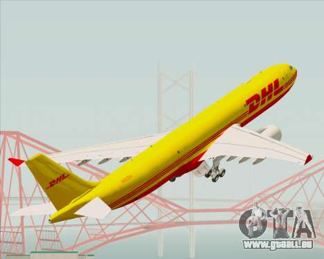 Airbus A330-300P2F DHL pour GTA San Andreas roue