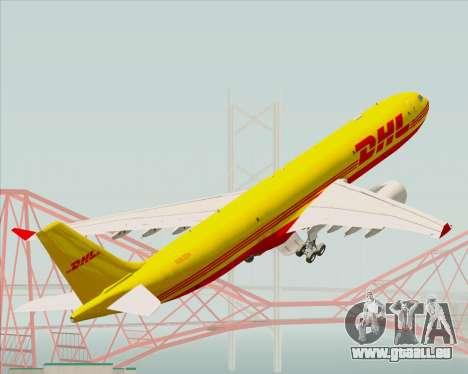 Airbus A330-300P2F DHL für GTA San Andreas Räder