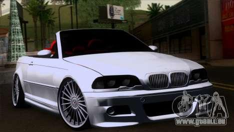 BMW M3 E46 Cabrio pour GTA San Andreas