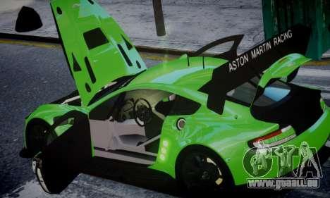 Aston Martin Vantage GTE pour GTA 4 est un droit