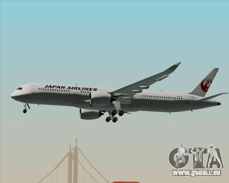 Airbus A350-941 Japan Airlines pour GTA San Andreas roue