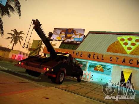 Dodge Ram Tow-Truck für GTA San Andreas rechten Ansicht