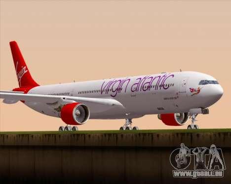 Airbus A330-300 Virgin Atlantic Airways für GTA San Andreas linke Ansicht