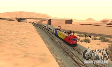 Le 6600 Kw-Phoenix pour GTA San Andreas vue arrière