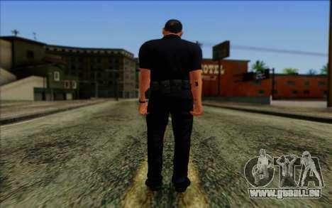 Police (GTA 5) de la Peau 4 pour GTA San Andreas deuxième écran