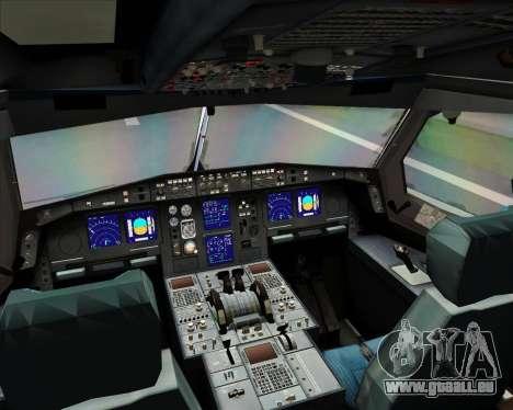 Airbus A330-300 Full White Livery pour GTA San Andreas vue de côté
