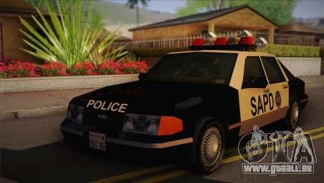 GTA 3 Police Car pour GTA San Andreas