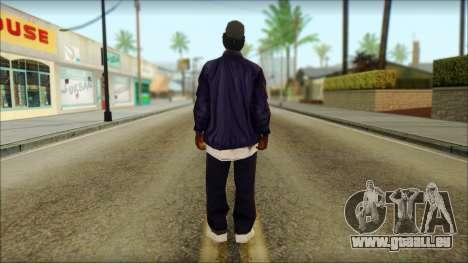 Eazy-E Blue v2 pour GTA San Andreas deuxième écran