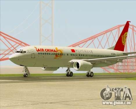 Boeing 737-89L Air China pour GTA San Andreas vue de droite