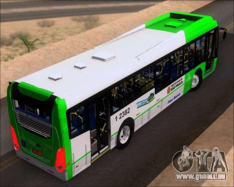 Caio Induscar Millennium BRT Viacao Gato Preto pour GTA San Andreas vue arrière