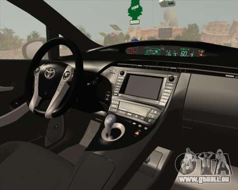 Toyota Prius für GTA San Andreas Innen