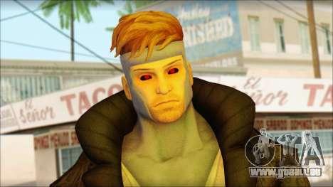 Gambit Deadpool The Game Cable pour GTA San Andreas troisième écran