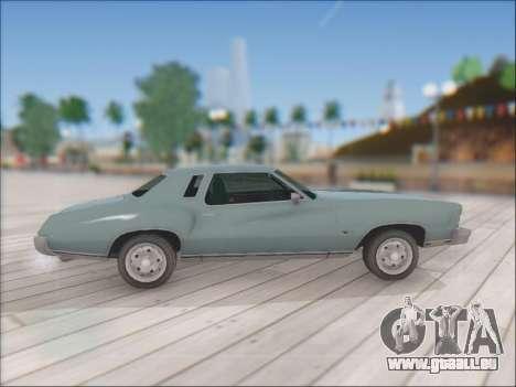 Chevrolet Monte Carlo 1973 pour GTA San Andreas vue de droite