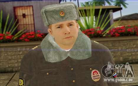 La Police En Russie, la Peau de 4 pour GTA San Andreas troisième écran