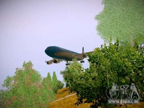 Airbus A340-300 D'Aerolineas Argentinas pour GTA San Andreas laissé vue