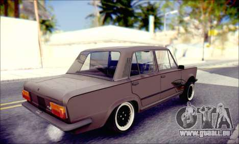 Fiat 125P Shark für GTA San Andreas linke Ansicht