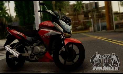 Honda CS1 pour GTA San Andreas sur la vue arrière gauche