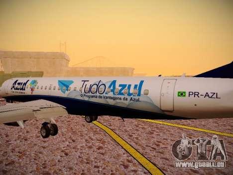 Embraer E190 Azul Tudo Azul pour GTA San Andreas salon