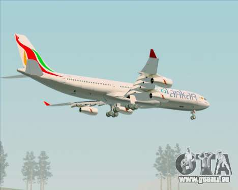 Airbus A340-313 SriLankan Airlines pour GTA San Andreas roue