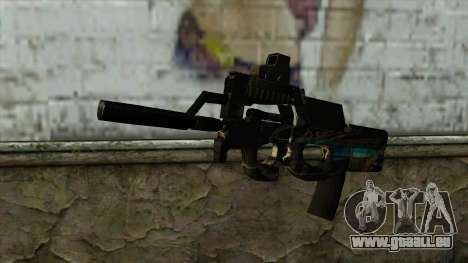 P90 from PointBlank v2 pour GTA San Andreas