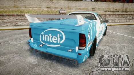Ford Falcon XR8 Racing für GTA 4 hinten links Ansicht