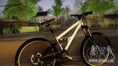 Banshee Rampant Bike pour GTA San Andreas laissé vue