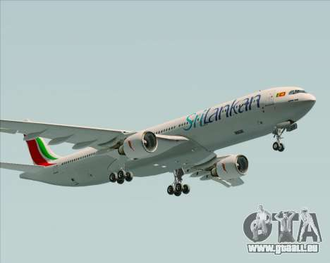 Airbus A330-300 SriLankan Airlines für GTA San Andreas Innenansicht