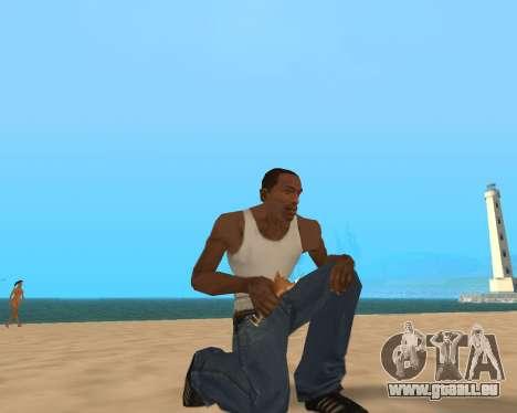 Pour airborne! pour GTA San Andreas quatrième écran