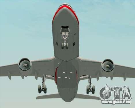 Airbus A330-300 LTU International für GTA San Andreas Innenansicht