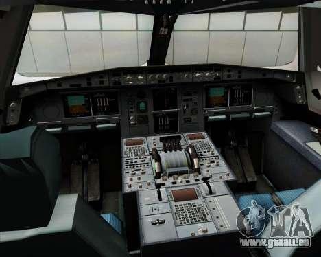 Airbus A380-841 Emirates pour GTA San Andreas salon