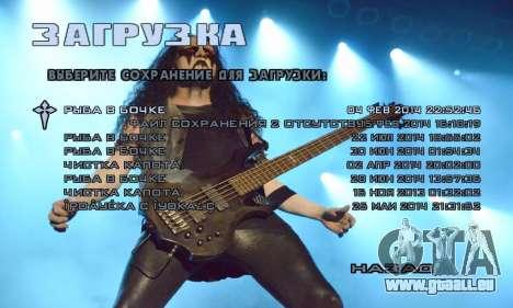 Metal Menu - Immortal (Live) für GTA San Andreas zweiten Screenshot