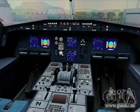 Airbus A330-300 Fly International für GTA San Andreas Innen