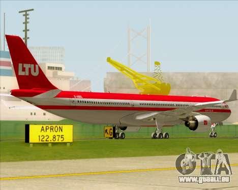 Airbus A330-300 LTU International für GTA San Andreas Rückansicht