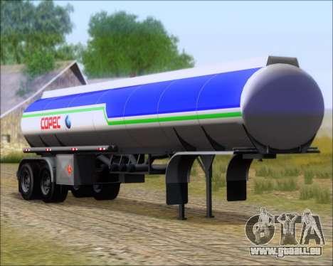 Trailer tank Carro Copec für GTA San Andreas