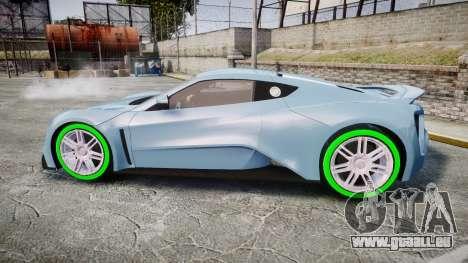 Zenvo ST1 2010 für GTA 4 linke Ansicht