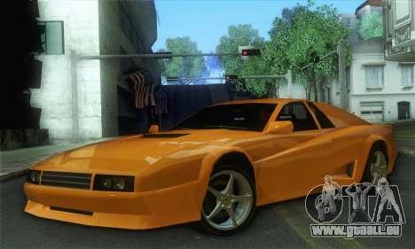Cheetah Testarossa für GTA San Andreas