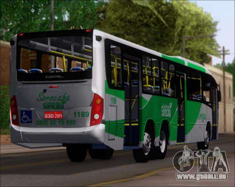 Comil Svelto BRT Scania K310IB 6x2 Sorocaba pour GTA San Andreas roue