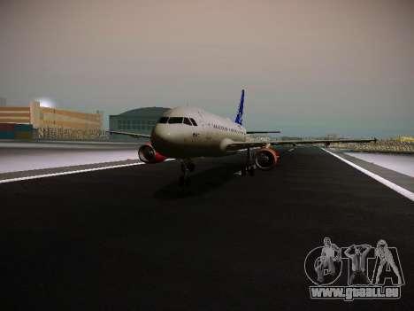 Airbus A319-132 Scandinavian Airlines für GTA San Andreas
