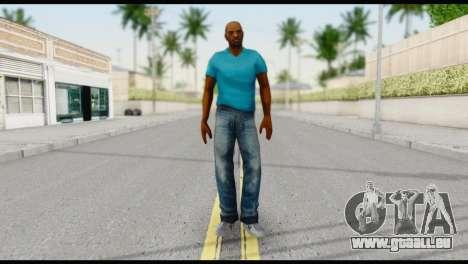 Blue Shirt Vic für GTA San Andreas