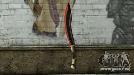 Fang Blade from PointBlank v1 pour GTA San Andreas
