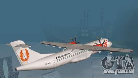 Indonesian Plane Wings Air für GTA San Andreas linke Ansicht