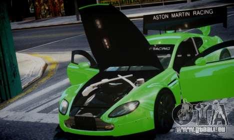 Aston Martin Vantage GTE pour GTA 4 Vue arrière de la gauche