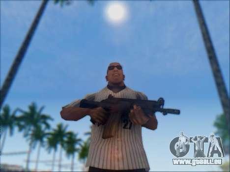 Israélien carabine ACE 21 pour GTA San Andreas douzième écran