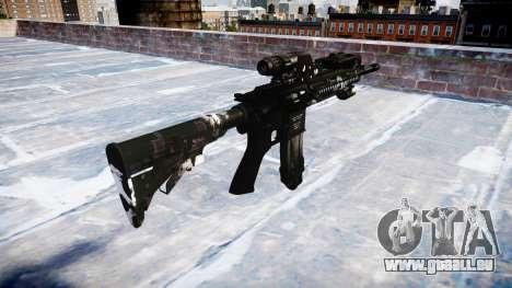 Automatische Gewehr Colt M4A1 Geister für GTA 4 Sekunden Bildschirm