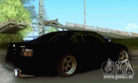 Toyota Chaser Drift 2JZ-GTE für GTA San Andreas linke Ansicht