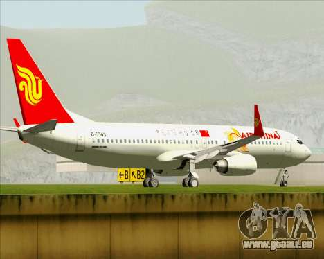 Boeing 737-89L Air China pour GTA San Andreas roue