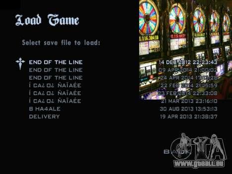 Menu Gambling für GTA San Andreas dritten Screenshot