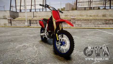 Yamaha YZF-450 Custom pour GTA 4