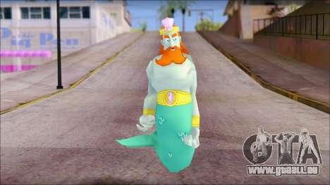 Kingnept from Sponge Bob pour GTA San Andreas